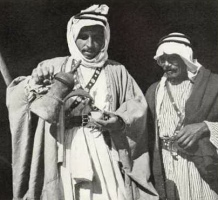 Bedouins and coffee 1937.